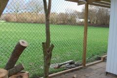 ...mit Blick über die Felder :)